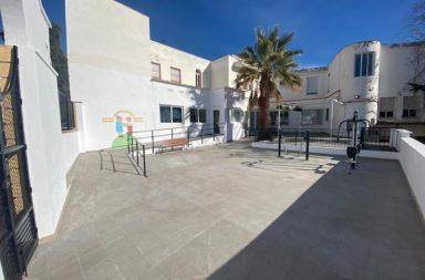 residencia de dalias reforma terraza