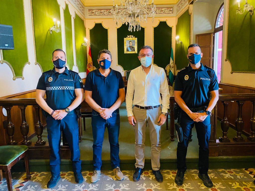 convenio seguridad Berja y Dalias